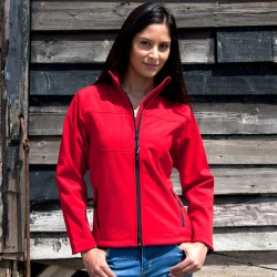 "Softshell Jas ""RESULT"" ladyline"