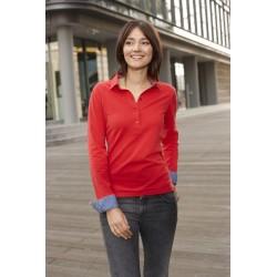 """DTC Polo shirt """"MODERN PIQUÉ"""" ladyline longsleeve"""