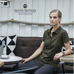 DTC Luxury Stretch Business Polo LADYLINE