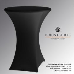 DTC Statafelhoes Basic Ø 80-85 x 110 cm.